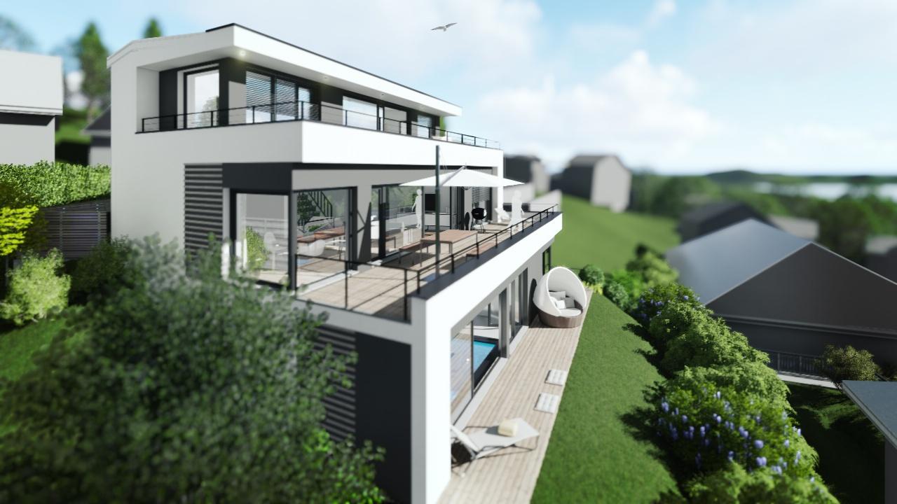 Einfamilienhaus mit Wellness-Bereich