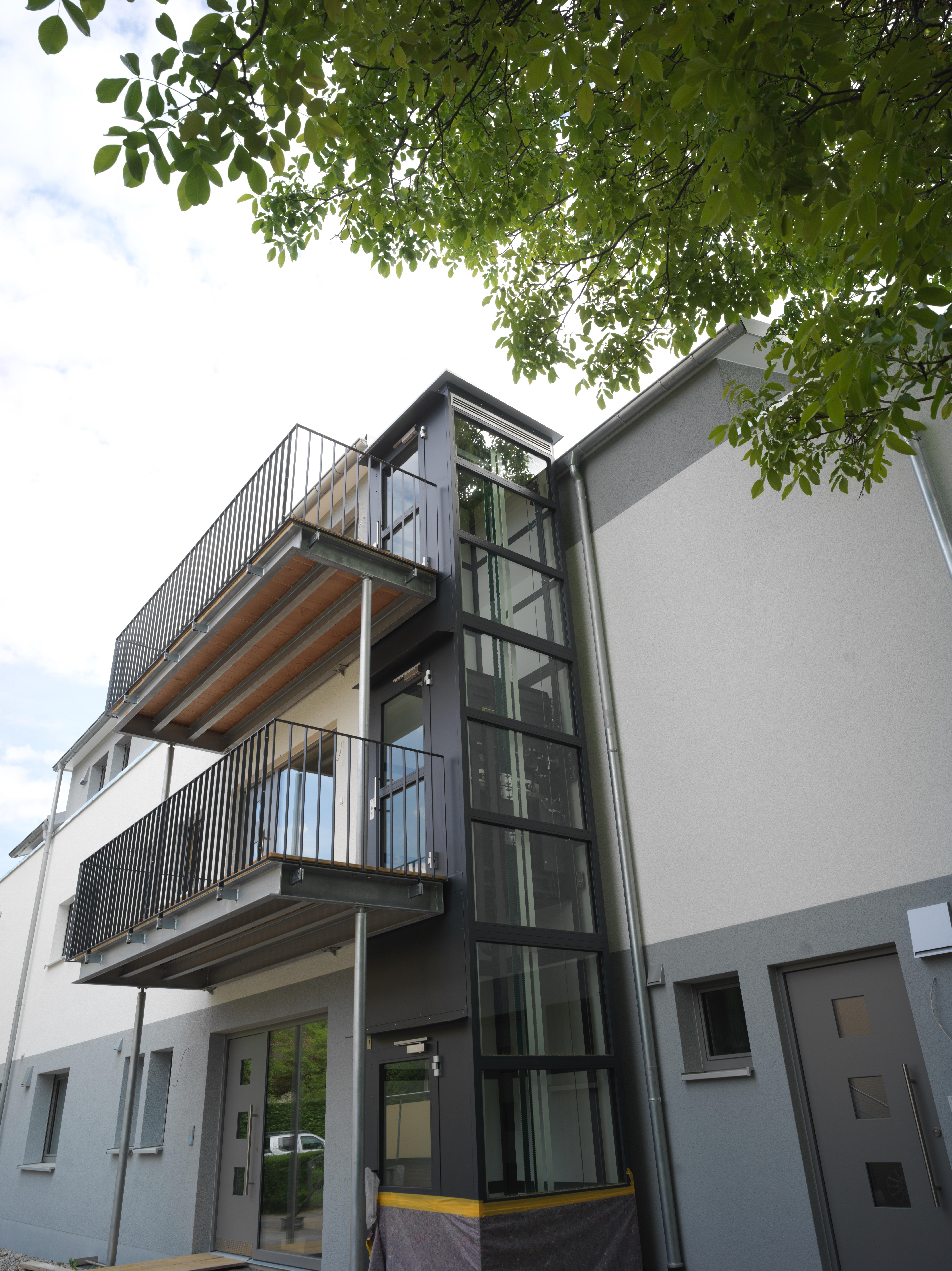 Design-Mehrfamilienhaus