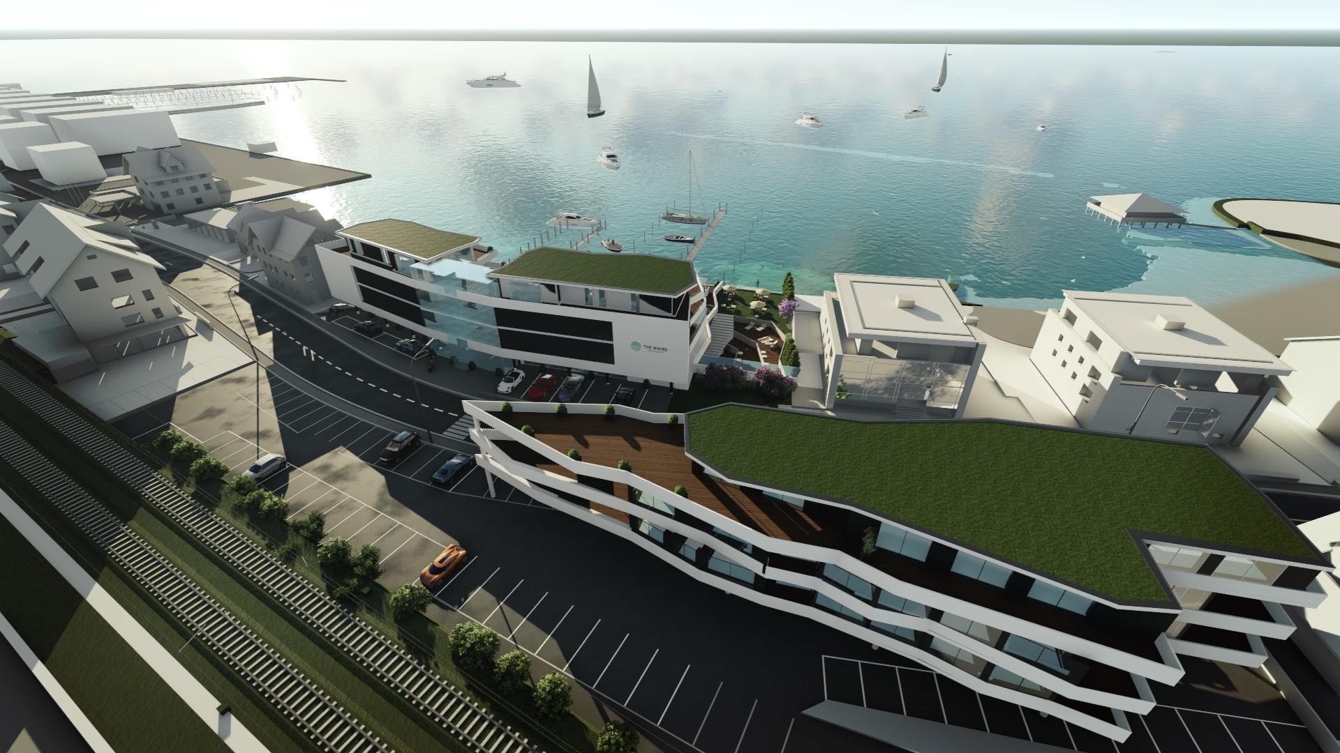Wohn- und Gewerbekonzept für Seeuferanwesen